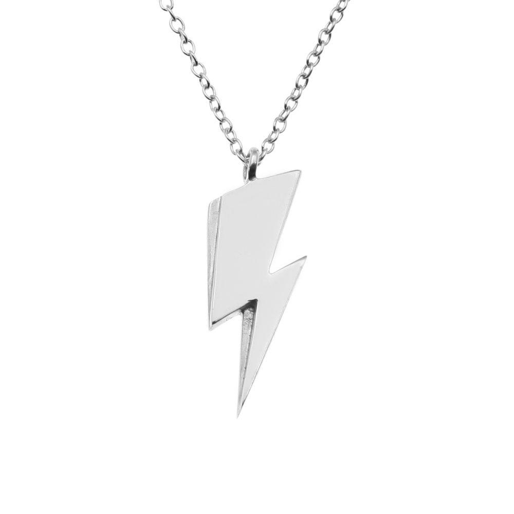 Lightning bolt charm pendant mjj lightning bolt charm pendant mozeypictures Choice Image