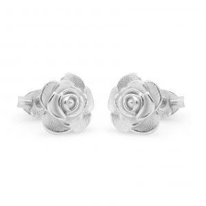 rose stiud earrings